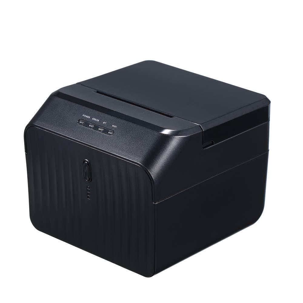 USB Printer Thermal Receipt Printers Qr Code Sticker Adhesive Printer 58mm US Plug