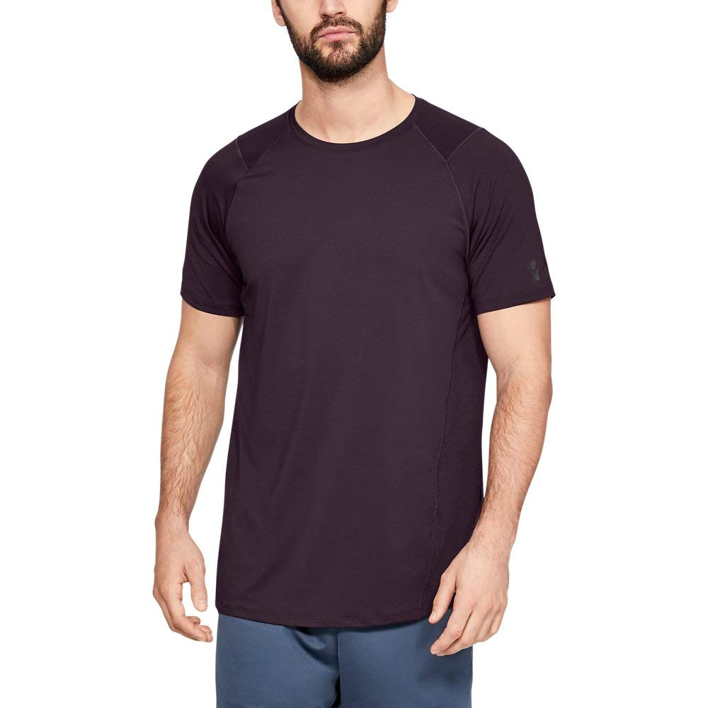 Under Armour Men's MK1 Short Sleeve T-Shirt, Kinetic Purple (520)/Black, X-Large by Under Armour