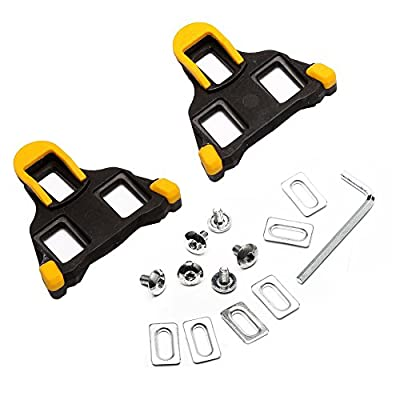 West Biking Update Pedals Cleats Lightweight Durable for Cycling Shoes For Shimano Road SM-SH11 SPD-SL