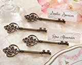 120 ''Key To My Heart'' Victorian-Style Key Place Card Holder