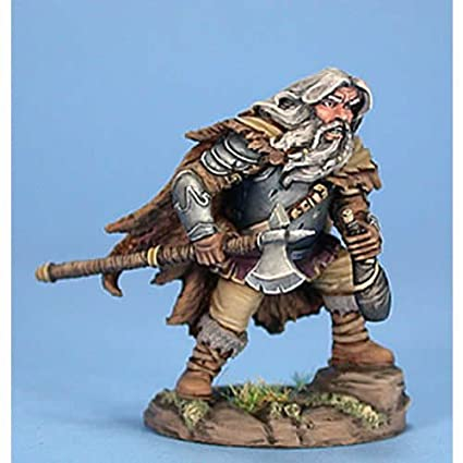Amazon com: Male Dwarven Fighter With Axe And Wine Skin