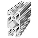 80/20 Inc., 1020, 10 Series, 1'' x 2'' T-Slotted Extrusion x 48''