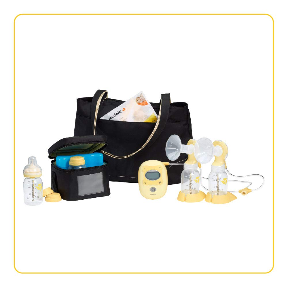Medela Freestyle Double Electric Breast Pump Breastfeeding Baby ...