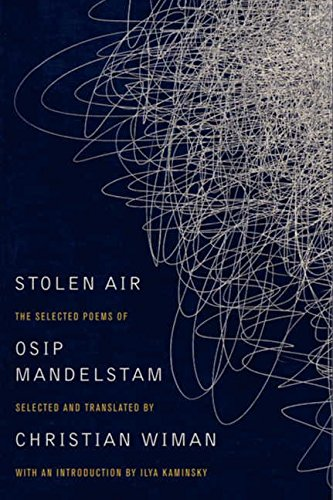 Cover of Stolen Air: Selected Poems of Osip Mandelstam