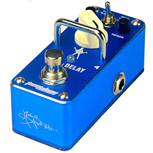 (Tom'sline Engineering Digital Delay and Echo Delay Pedal APE3S by Michael Angelo Batio signature guitar effect pedal)