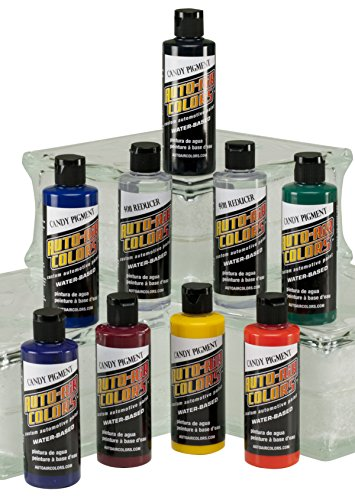 Auto Air Colors Candy Pigment Colors Set C, 4oz. ()