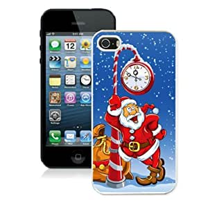 Hard Shell Cover for Iphone 5/5s Diy Phone Case Coolest Cheap Mobile Phone Protector Cartoon Christmas Gift