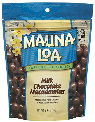 Mauna Loa Milk Chocolate Covered Macadamias, 6 oz, 2 pk ()