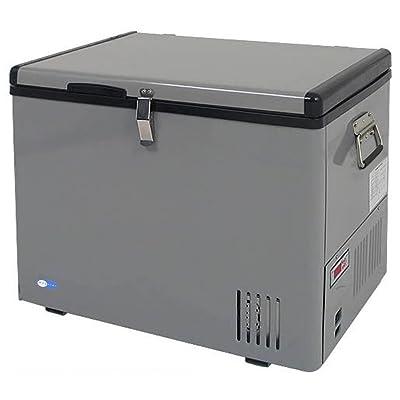 Whynter FM-45G 45 Quart Portable Refrigerator AC 110V/ DC 12V True Freezer for Car, Home, Camping, RV -8°F to 50°F, One Size, Gray: Appliances