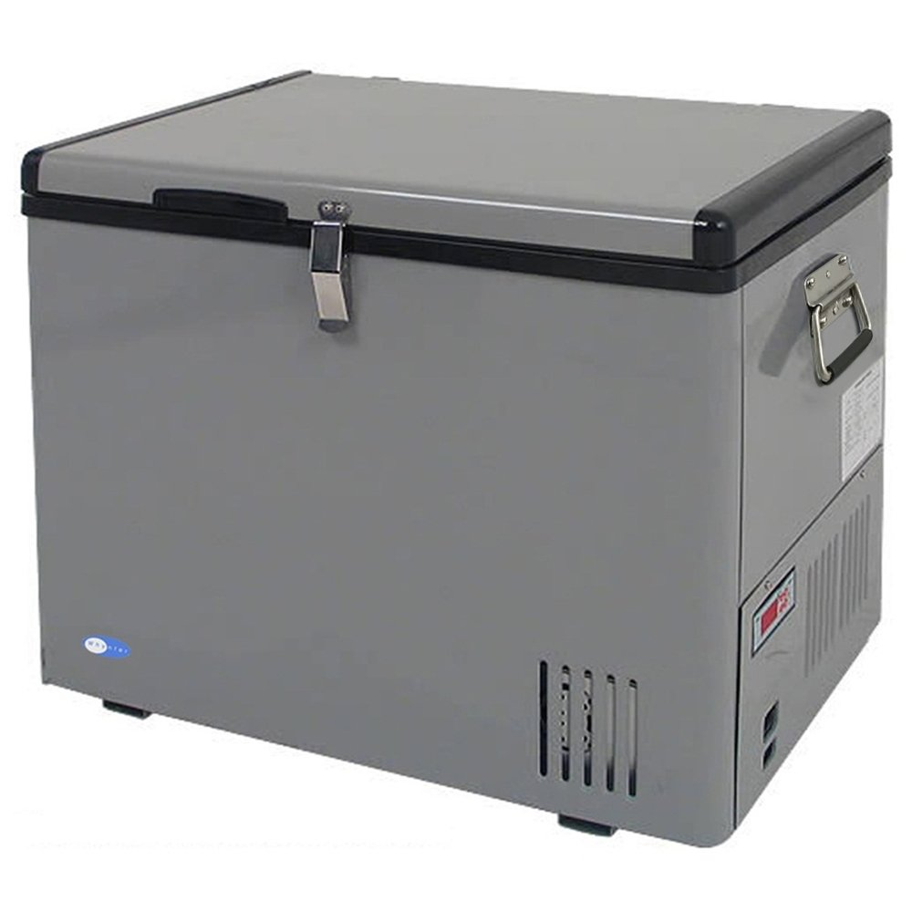 Whynter FM-45G 45-Quart Portable Refrigerator/Freezer, Platinum