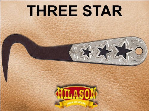 Antique Brown 3 Star Hoof Pick