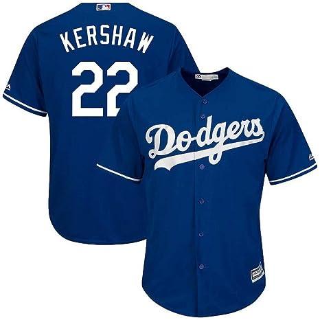 10d2cdd9 Amazon.com : '47 Men's Baseball Jersey Los Angeles Dodgers #22 ...