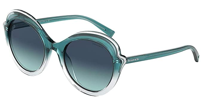 Amazon.com: Gafas de sol Tiffany TF 4155 82239S TRANSP ...