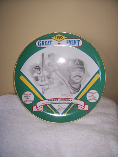 Reggie Jackson Hackett American 10 Inch autographed for sale  Delivered anywhere in USA
