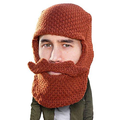3b18f8ab717 Beard Head - The Original Balaclava Knit Beard Hat (Ginger)