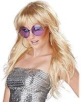 California Costumes Women's Fever! Wig 70's 80's Disco Pop Dance Diva