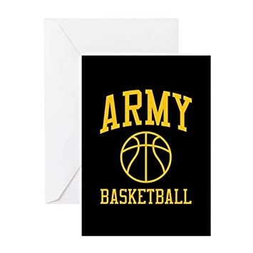 Amazon cafepress us army basketball greeting card note cafepress us army basketball greeting card note card birthday card blank bookmarktalkfo Image collections