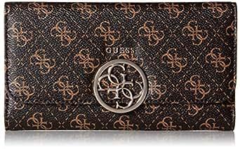 GUESS Kamryn Q-Logo Multi Clutch Wallet, Brown