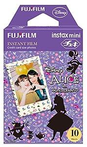 Fuji Instax Mini Films - Disney Alice in Wonderland | Usable with Polaroid Mio & 300 - Lomo Diana Instant Back | 10 sheets