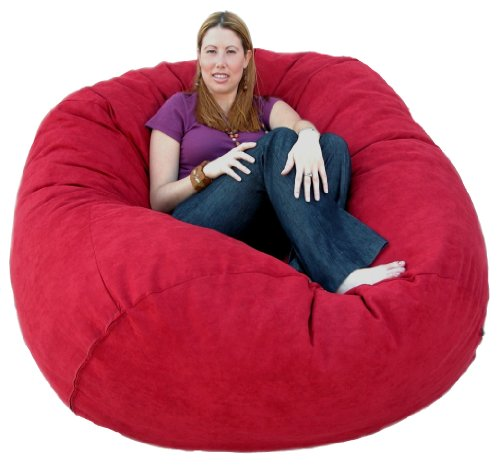 Cozy Sack 5-Feet Bean Bag Chair, Large, Cinnabar by Cozy Sack