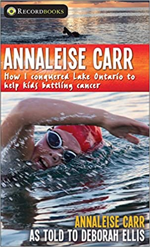 Annaleise Carr: How I Conquered Lake Ontario To Help Kids Battling Cancer por Annaleise Carr