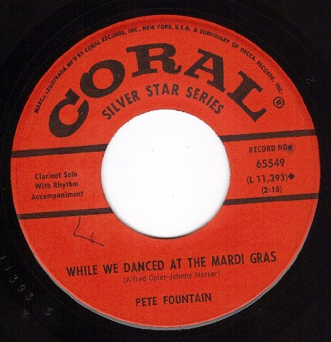 While We Danced At The Mardi Gras/Yes Indeed (NM 45 rpm)