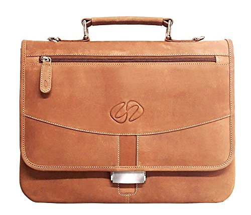(MacCase Premium Leather iPad Pro Briefcase - Vintage)