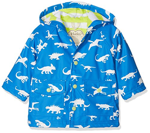 Hatley Baby Boys Printed Raincoats, Color Changing Dinosaur Menagerie, 18-24 Months