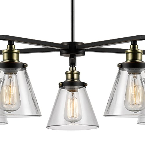 Review Globe Electric Shae 5-Light