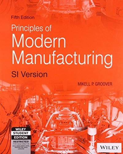 Read Online By Mikell P. Groover Fundamentals of Modern Manufacturing: Materials, Processes, and Systems (5th Ed.) By Mikell P. Groov (5th) [Paperback] PDF