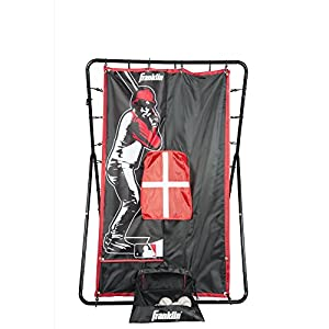 "Franklin Sports MLB 2-in-1 Switch-Hitter Return Trainer, 55"" x 36"""