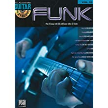 Funk: Guitar Play-Along Volume 52 (Hal Leonard Guitar Play-Along)