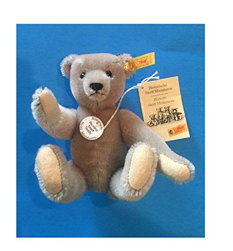 (Steiff Historic Miniature Replica Collection 16cm Richard Teddy Bear 029172)