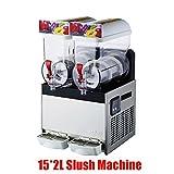 Commercial 15L*2 Frozen Drink Slush Slushy Making Machine/slush Maker/smoothie Maker/smoothie Making Machine