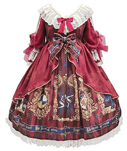 Topin Japanese School Girls Sweet Lolita Dress Vintage Palace Style Princess Summer Dresses Plus Size