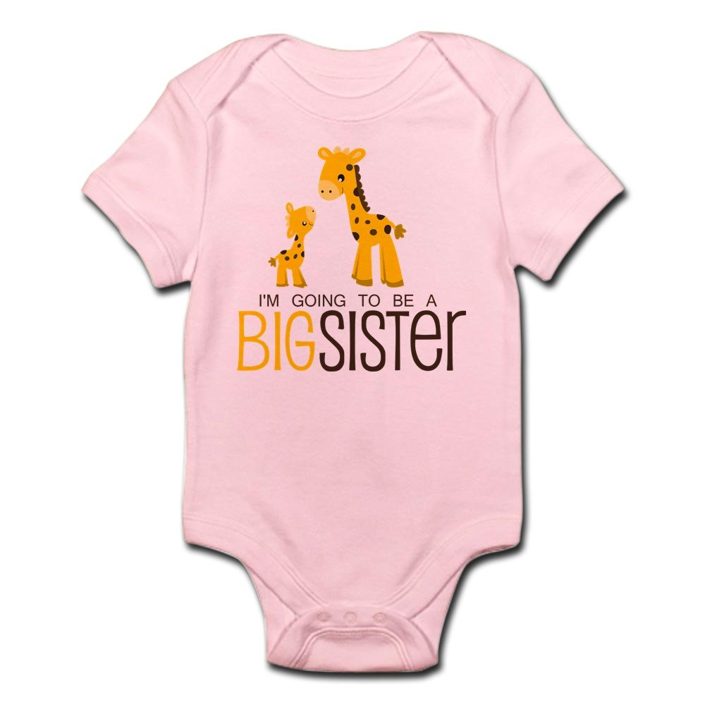 CafePress - I'm Going To Be A Big Sister - Cute Infant Bodysuit Baby Romper