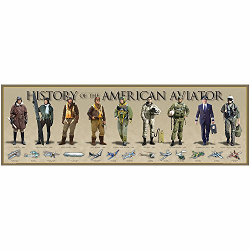 History Of The American - Aviators Cool For Gifts