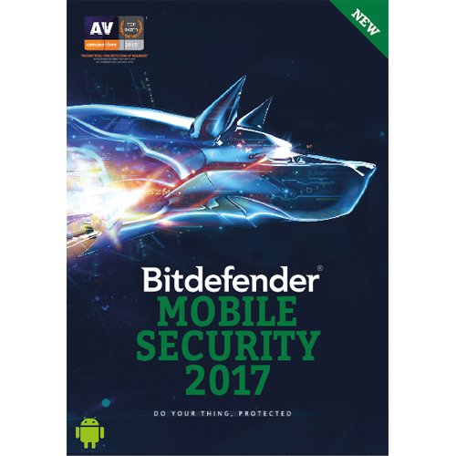 BitDefender Mobile Security 2017 Android - 1 Device, 1 Year (Voucher)