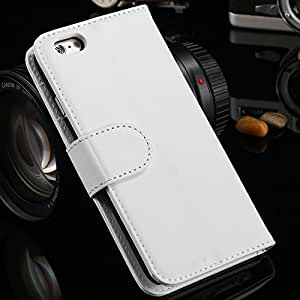 """Wallet Flip Case for iphone 6 PU Leather Cover for iphone6, 4.7 """" Bags, Stand + Card Holder Black 30pcs DHL Wholesale, RCD04172 --- Color:Yellow"""