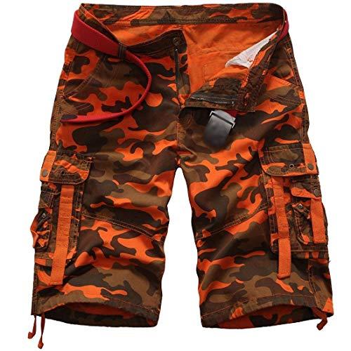Cargo Abbigliamento Con Da Festivo Bermuda Mimetici Aperta Pantaloncini Lannister All'aria Vintage Schwarzwmc Tasche Estivi Uomo Z15gxwz