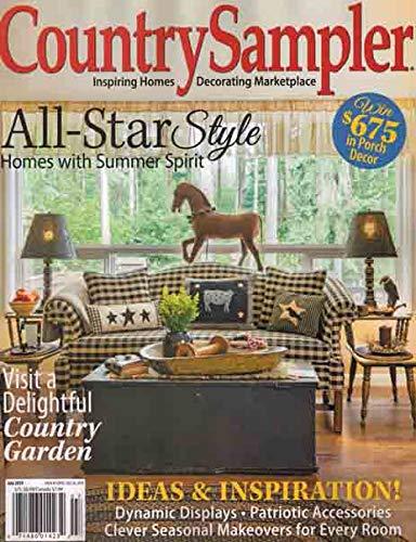 Country Sampler Magazine July ()