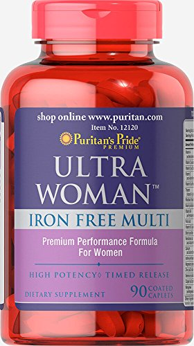 Puritan's Pride Ultra Women Daily Multi Iron Free Timed Release-90 Caplets Review