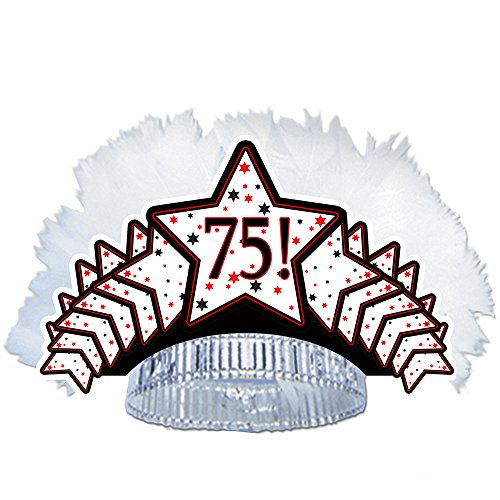 75th Birthday Tiara