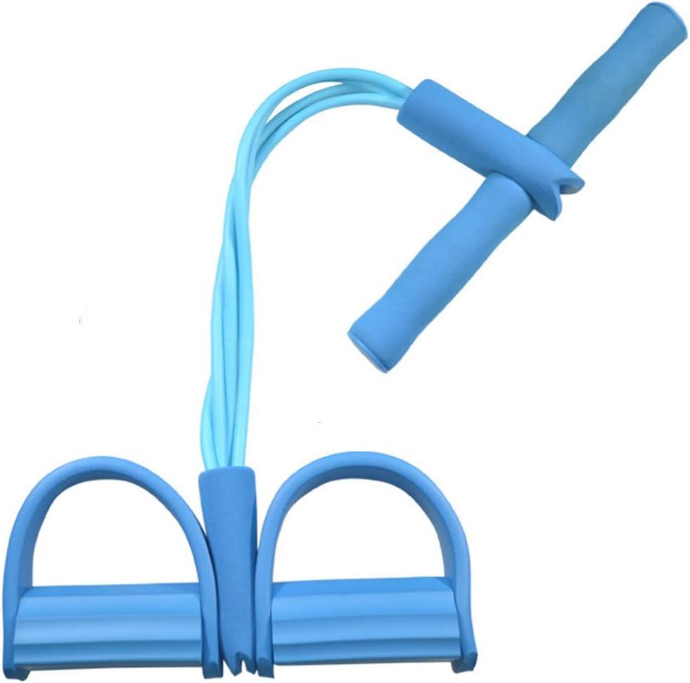 RGTR72/Tummy Trainer Taglia Libera Blue 4/Tubi Pedale Corda per Esercizi Fitness ed Esercizi Yoga Equipment