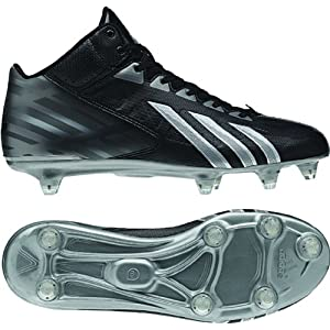 Adidas Filthy Quick Mid Men's Football Cleats G67076 Black/Platinum/Titanium