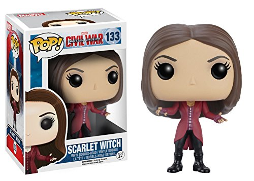 Price comparison product image Captain America: Civil War - Scarlet Witch POP Figure Toy 3 x 4in