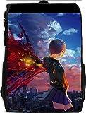 YOYOSHome Anime Tokyo Ghoul Cosplay Kaneki Ken Rucksack Backpack School Bag(# 56)