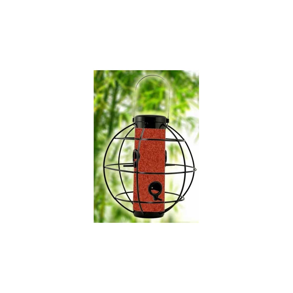 Perky Pet WB Zen Lantern Bird Feeder, Black Satin Sphere