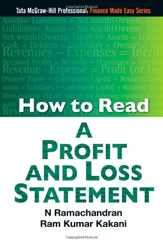 how to read a profit and loss statement dr n ramachandran ram