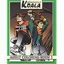Wandering Koala Adult Coloring Book 1 (Volume 1)